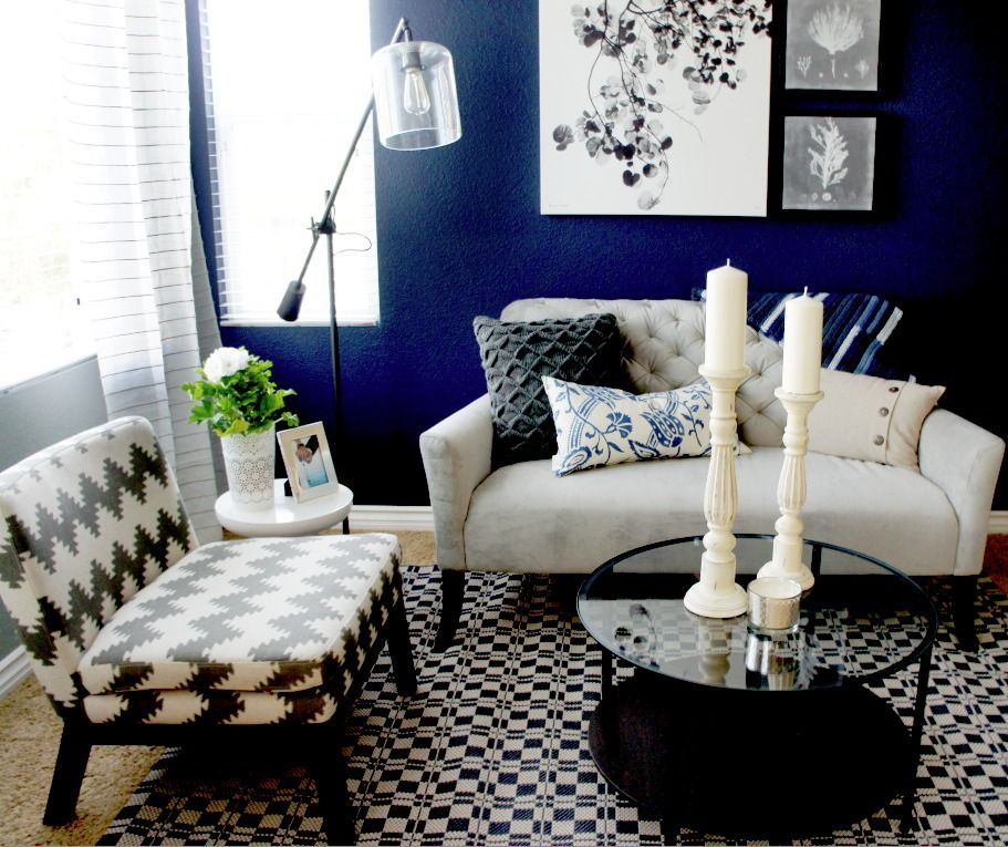 Cole Barnett Interiors - San Marcos Residence   Navy Room ...
