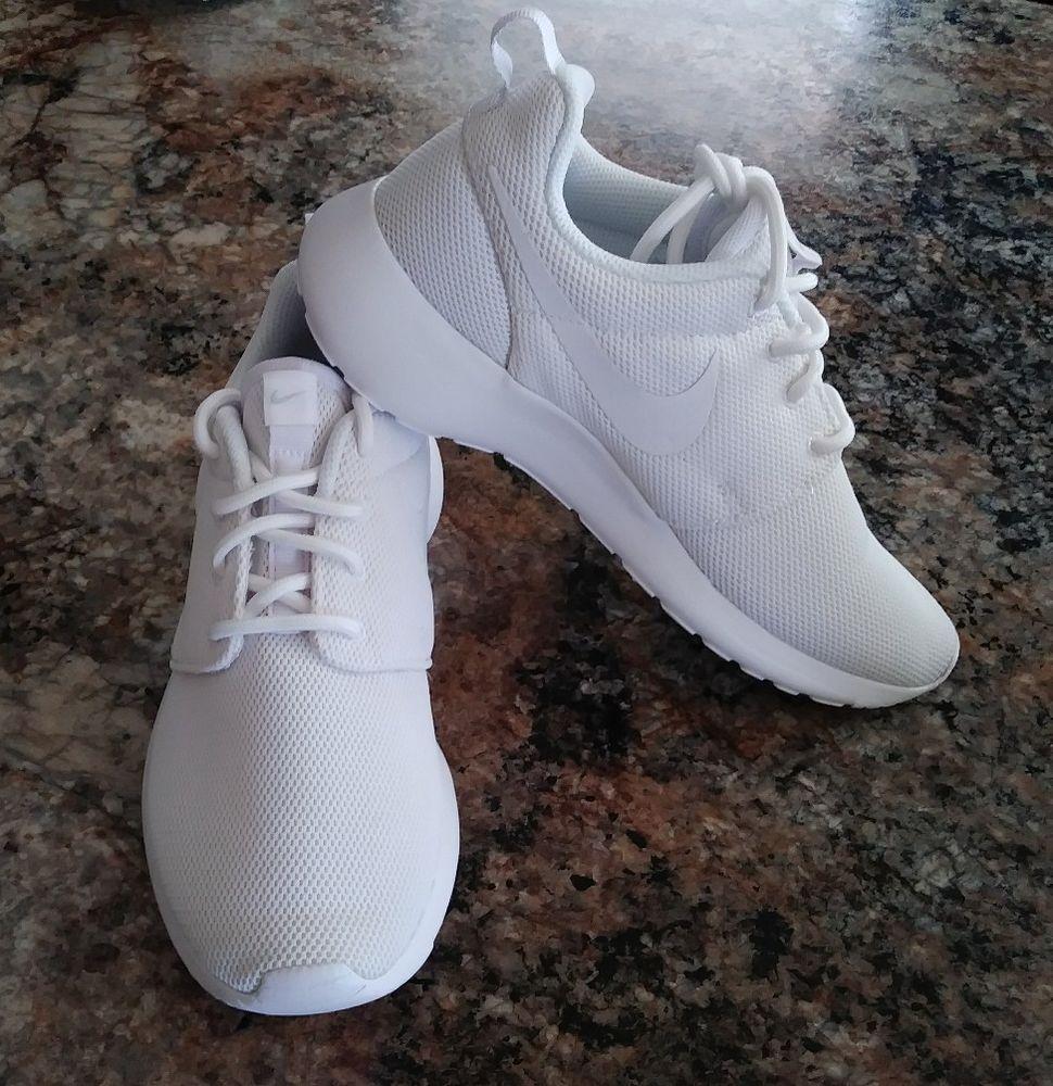 brand new 980b0 3ac07 Womens Nike Roshe One Size 5, White, 844994 100, New!! #Nike ...