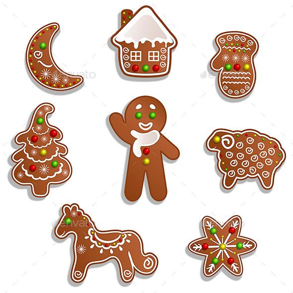 Scooby-Doo Gingerbread Christmas Decoupage Sheet