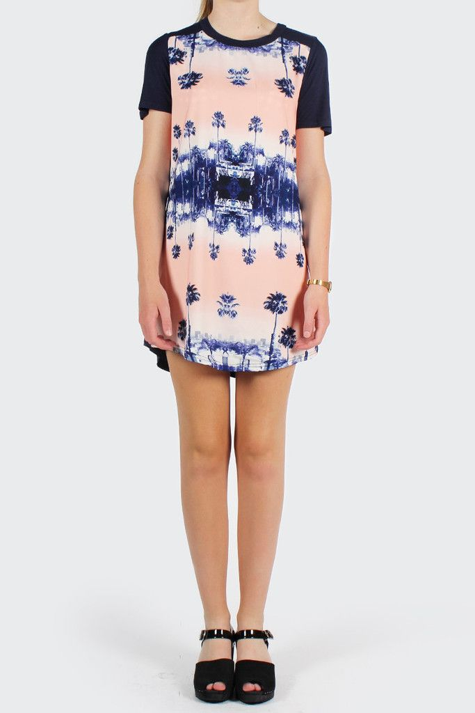 GOOD AS GOLD — Finders Keepers Moondance Tunic, miami nights print    http://www.goodasgold.co.nz/collections/finders-keepers