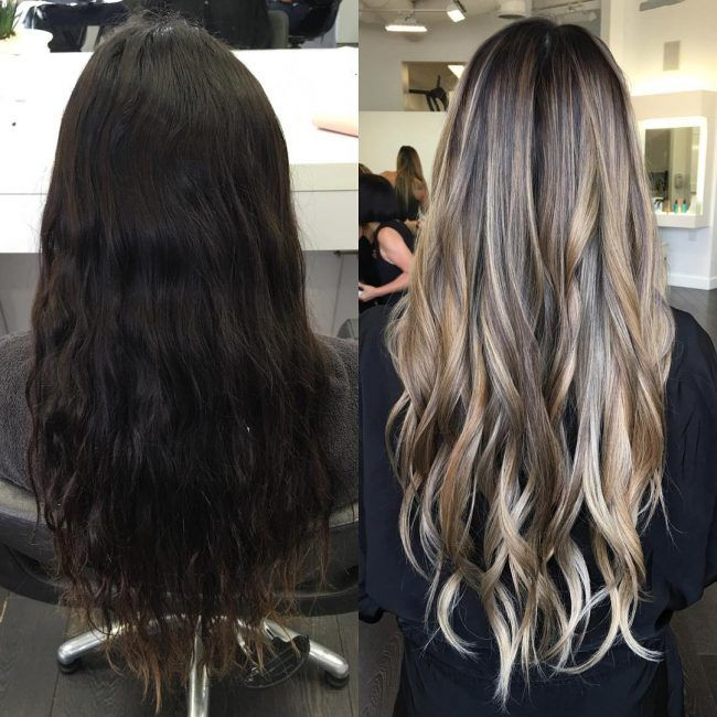 Explore Balayage On Dark Hair Blonde And More