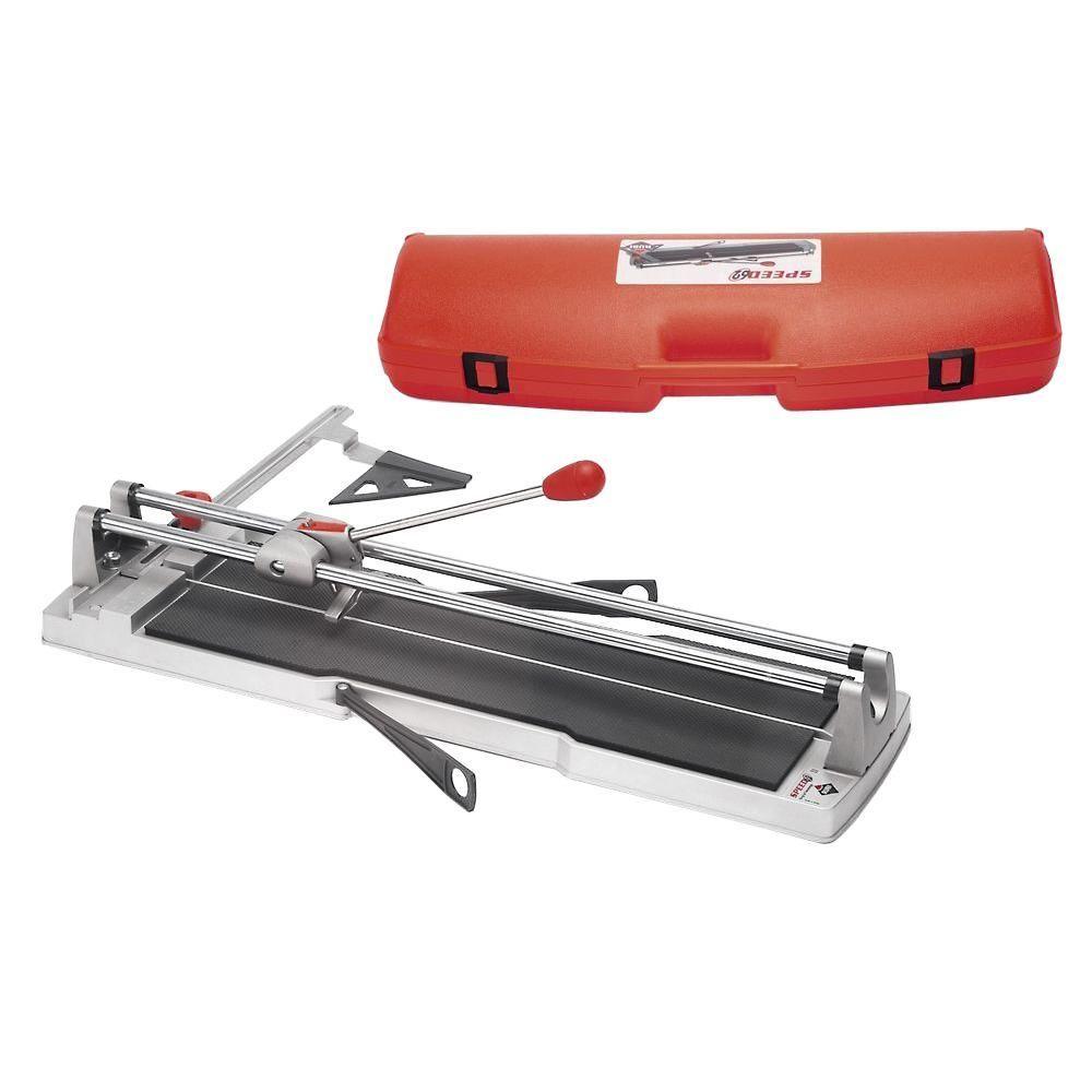 Rubi Speed 62 25 In Tile Cutter Tile Cutter Home Depot Flooring Tools