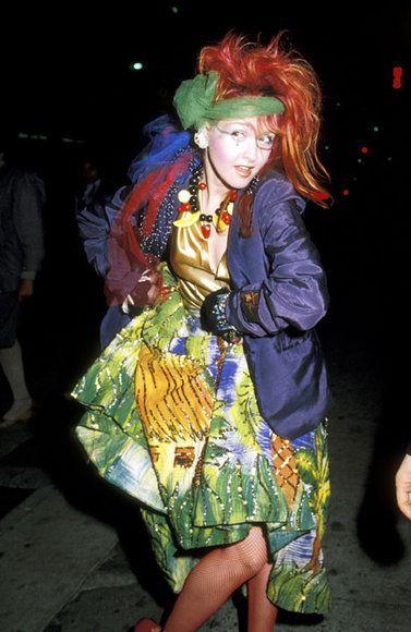 : Cyndi Lauper 1984... | Class reunion | Pinterest | Cyndi ...