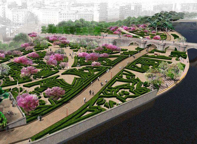 Arquitectura del paisaje Jardin Pinterest - paisaje jardin