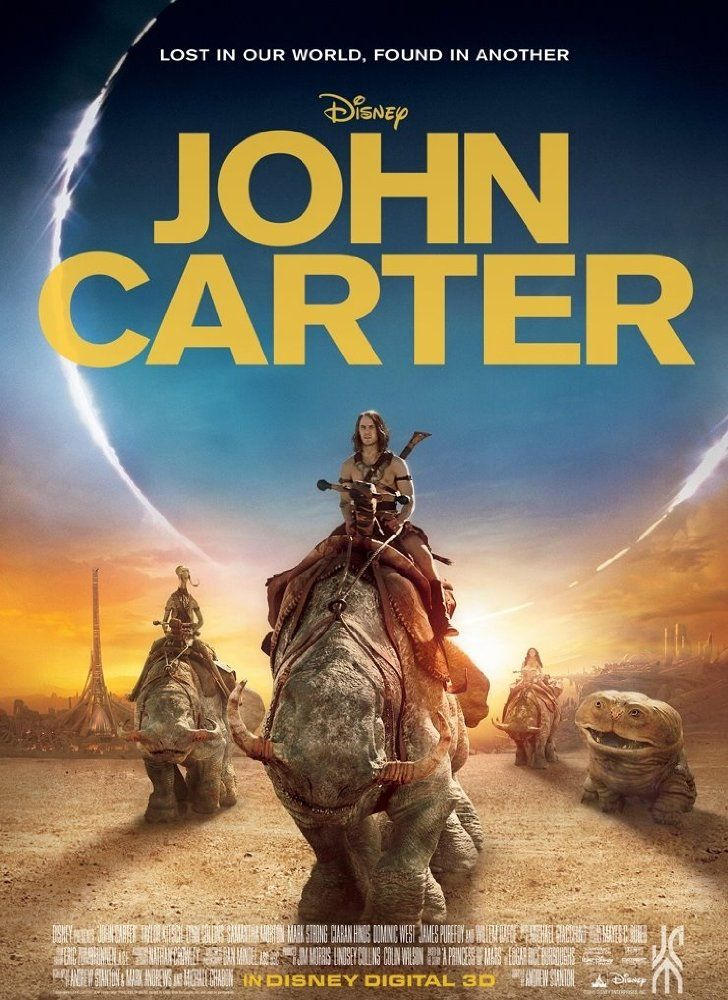 John Carter Entre Dois Mundos Dublado Em 2020 Filmes Online