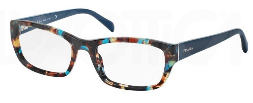 40bb4d5f1ebb Prada Eyeglasses spotted havana blue PR 18OV