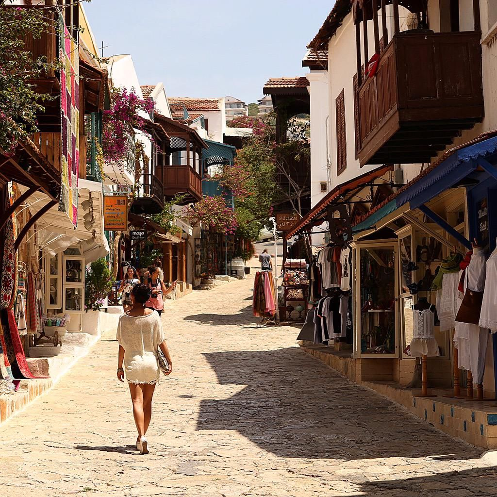Amazing small town of Kas in Antalya province Turkey Travel