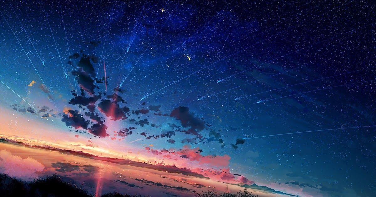 30 Fantasy Anime Scenery Wallpaper 4k Anime Scenery Horizon Shooting Star Sunset 4k 3840x2160 Downl In 2020 Anime Scenery Scenery Wallpaper Anime Scenery Wallpaper