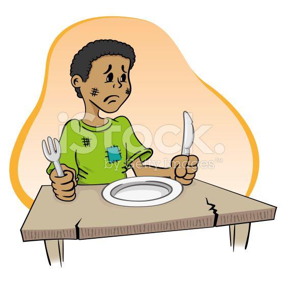 Resultado De Imagen De Personas Con Hambre Animados Hambre Mujer Comiendo Ilustracion Vectorial