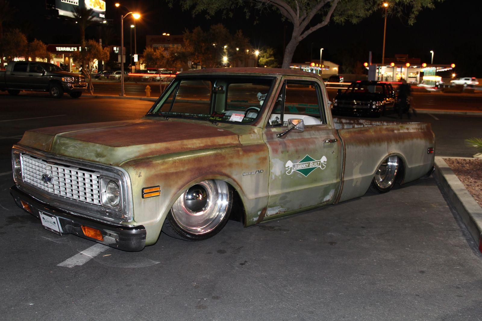 Shop truck c10 patina