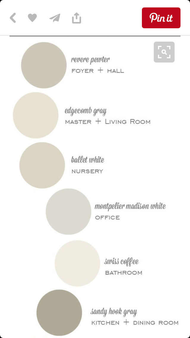 Swiss Coffee Paint Colors For Home Neutral Paint Colors House Painting