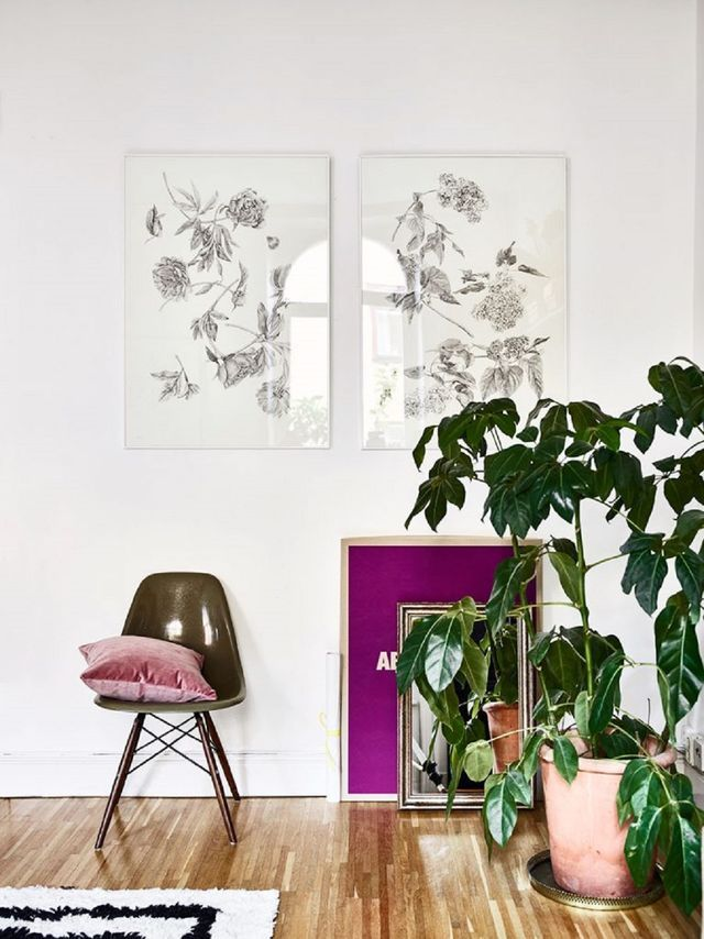 Pretty Scandinavian Interior