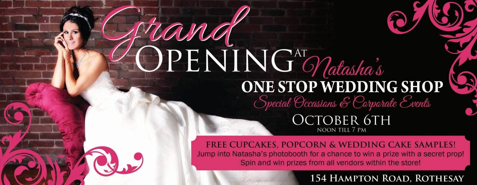 Join Us For Our Grand Opening Event October 6, 2013 at 154