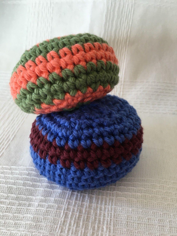 Hacky Sacks, Crochet Hacky Sacks, Indoor Games, Indoor