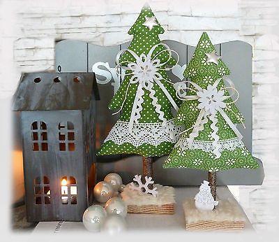 tannenbaum tannenbaeume 2er set weihnachten tilda impressionen landhaus adventi v s r. Black Bedroom Furniture Sets. Home Design Ideas