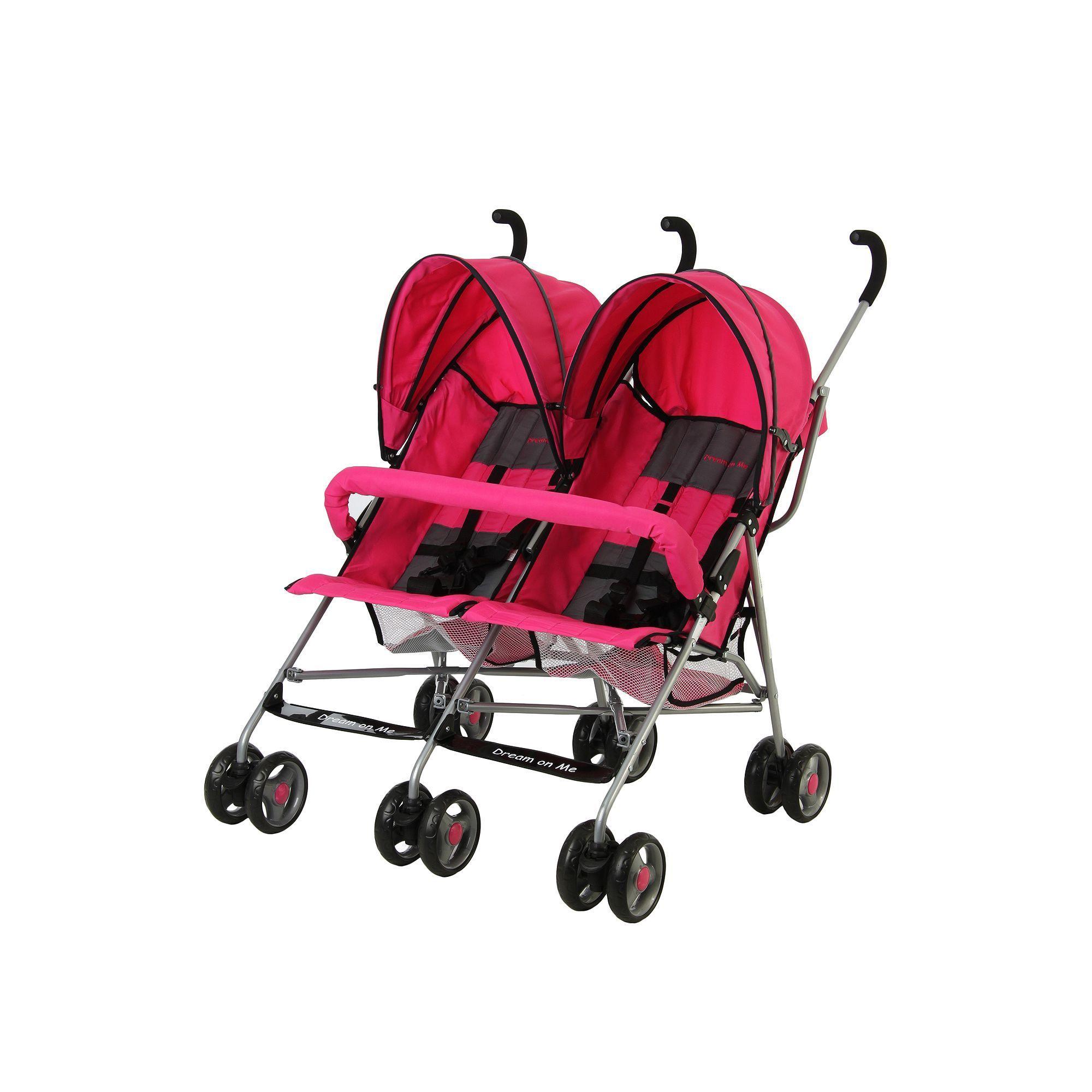 Dream On Me Twin Stroller Twin strollers, Umbrella