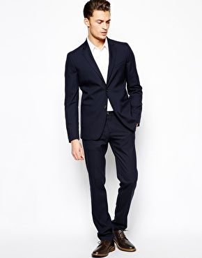 United Colors Of Benetton Casual Suit In Navy, unquestionably my ...