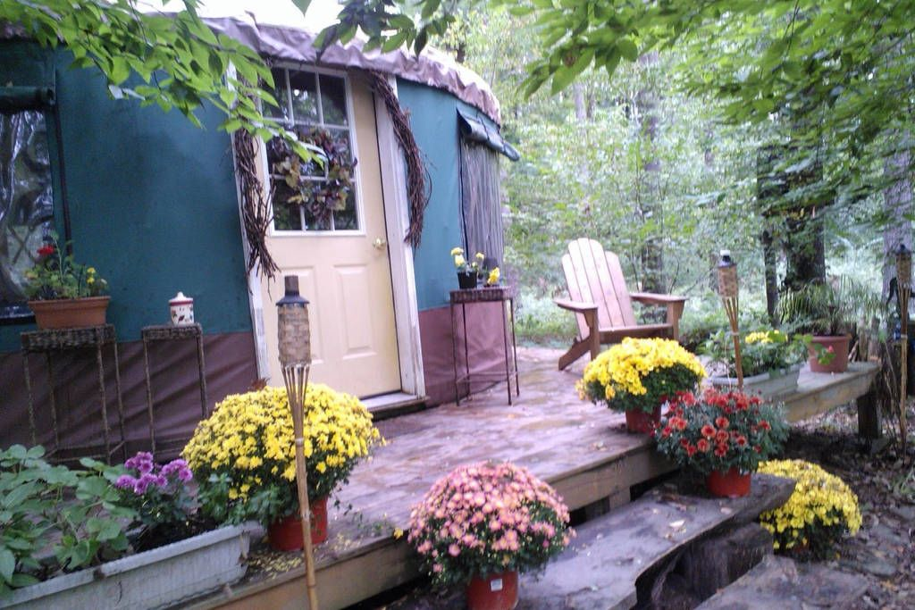 Yurt In The Pocono Mountains Greentown Pa From 110