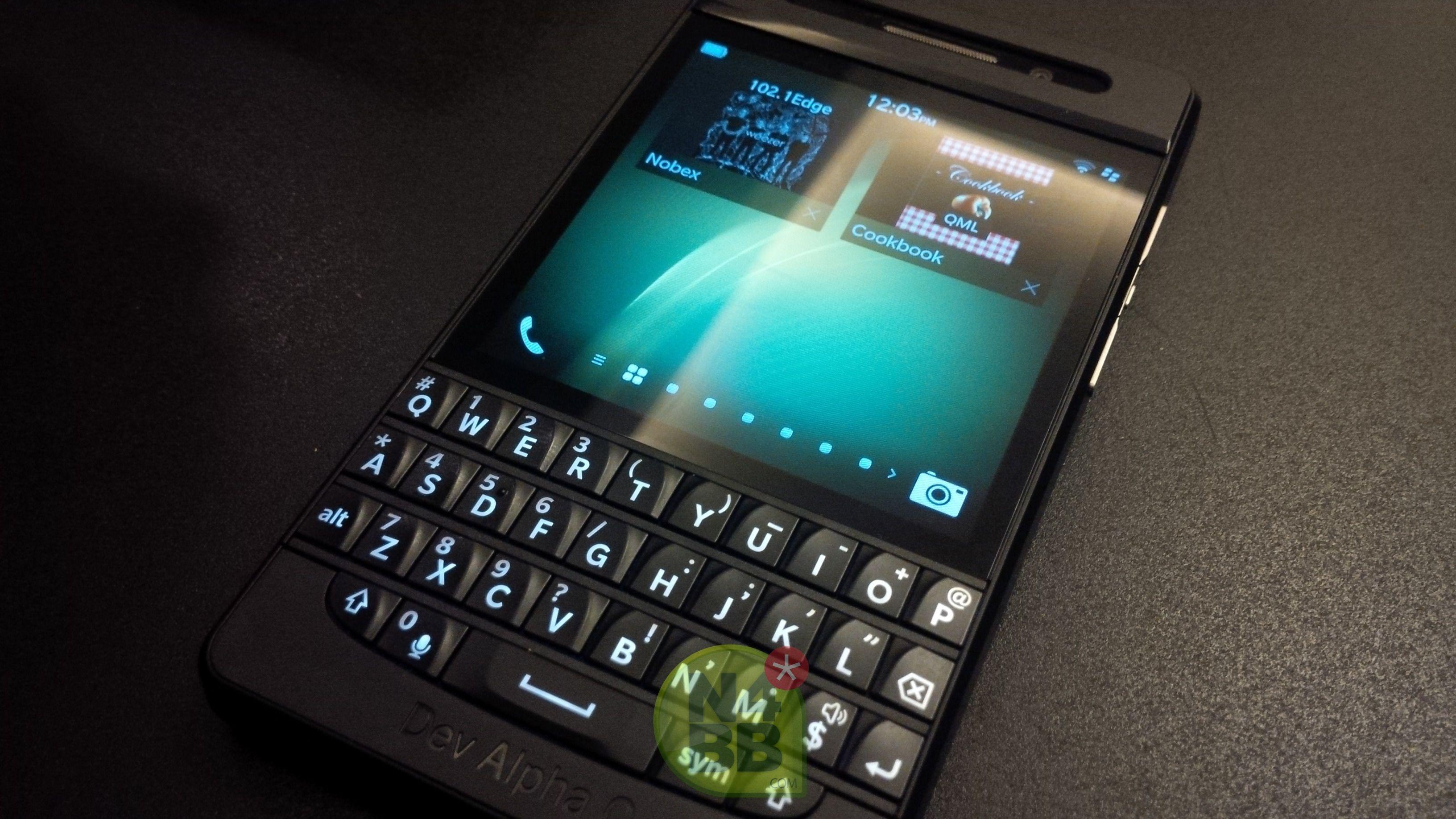 Hands-on: BlackBerry 10 Dev Alpha C | BB10 Teaser