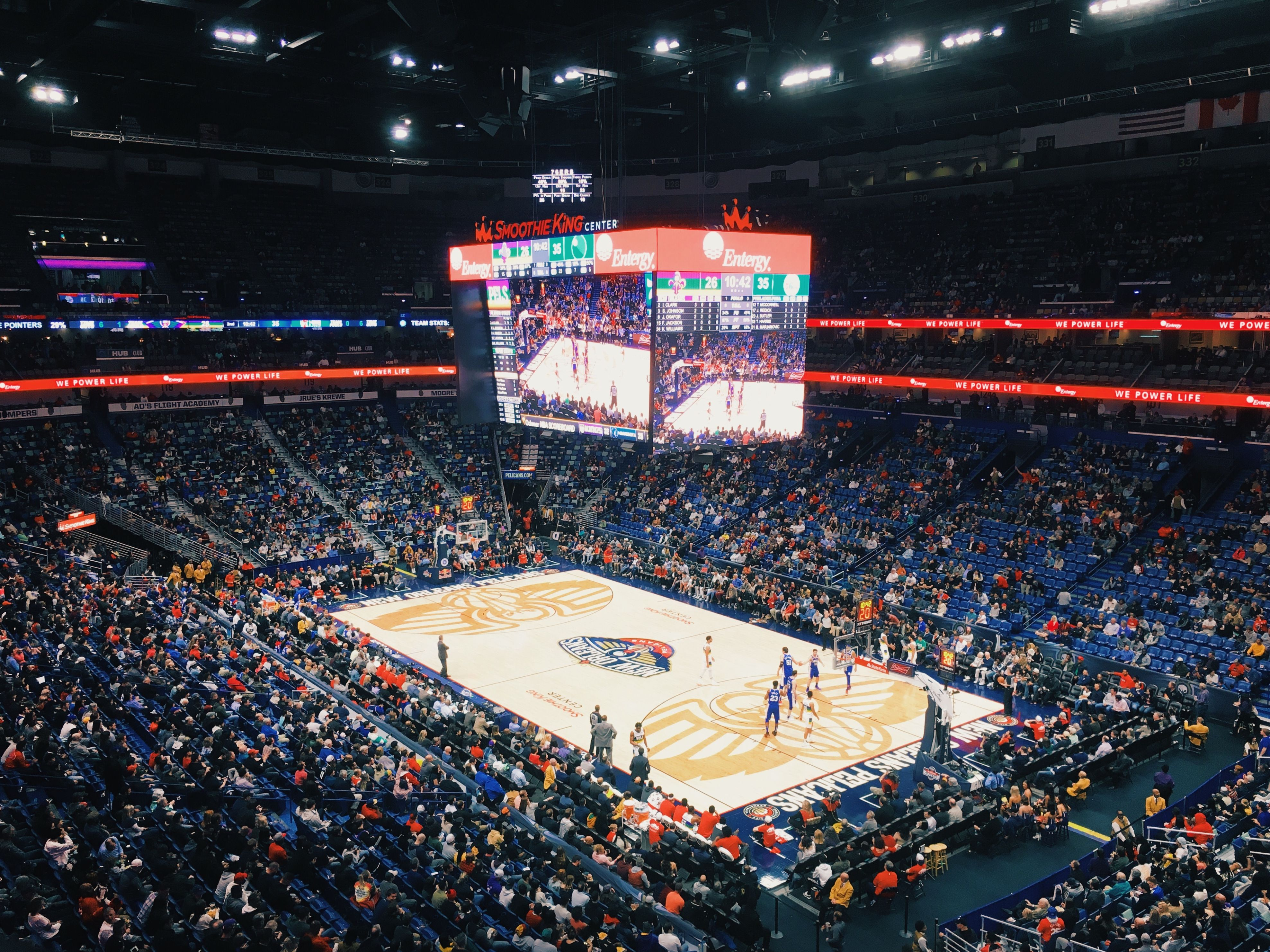 New Orleans Pelicans Arena Smoothie King Center Smoothie