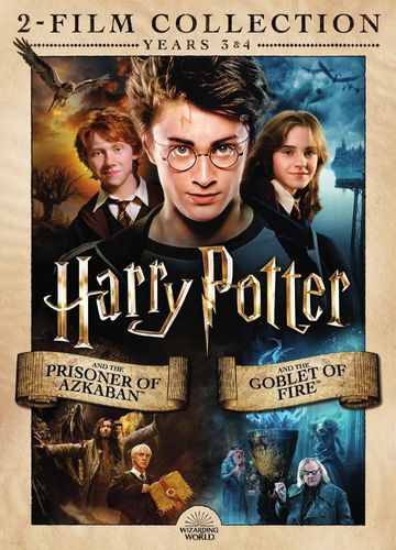 Harry Potter And The Prisoner Of Azkaban Harry Potter And The Goblet Of Fire Dvd Best Buy Prisoner Of Azkaban Azkaban Goblet Of Fire