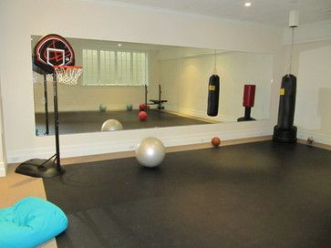 modern gym photos basement gym design ideas pictures