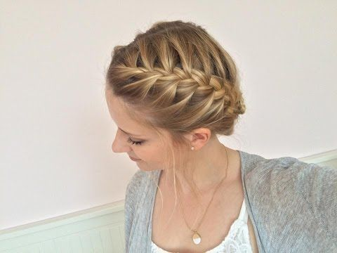 Simple braiding for everyday use | French braid | Sunday Child - You ...   - Friseuren -