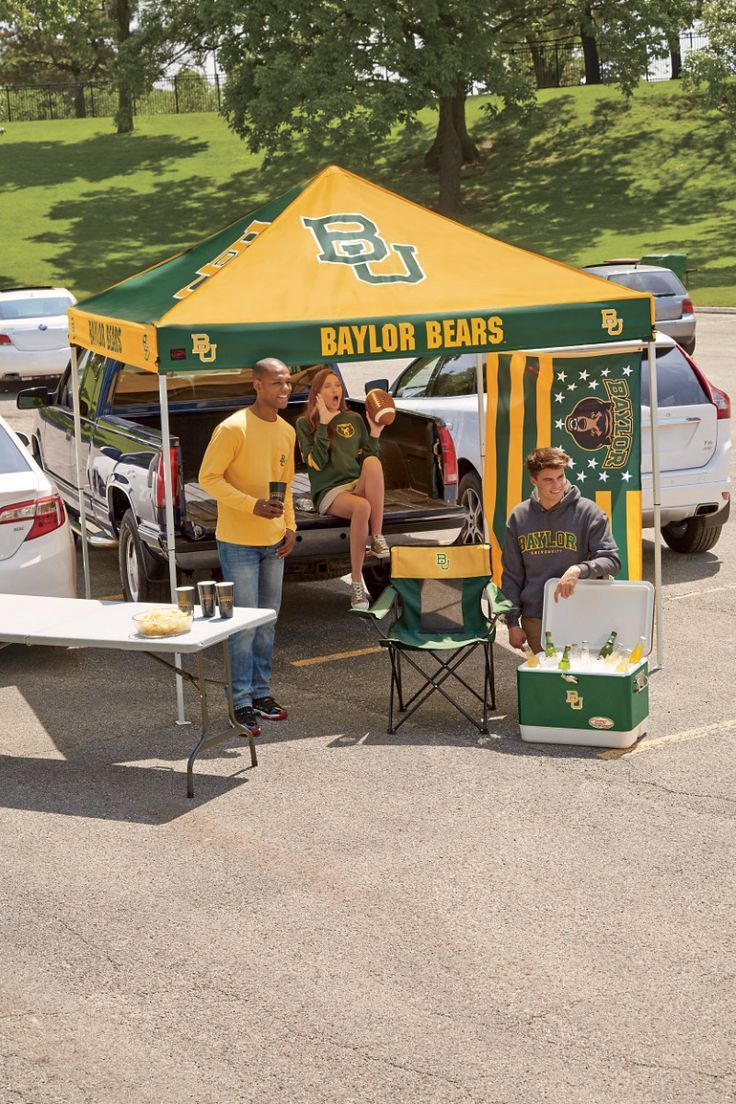 Baylor Bears tailgate tent // You think you might not need a tent for tailgating & Baylor Bears tailgate tent // You think you might not need a tent ...