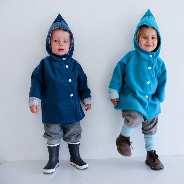 Wichteljacke blau - Petit cochon - Kinderkleidung, die mitwächst ...