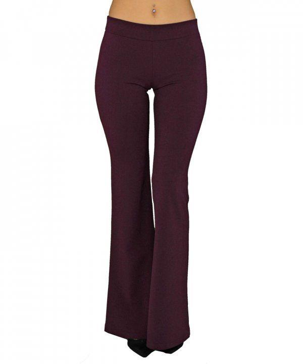 6d8eabffedd Γυναικεία ψηλόμεση παντελόνα καμπάνα μωβ 013903028 #παντελονιαγυναικεια  #women #womensfashion #womenswear
