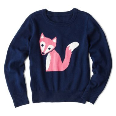c7666b7f5 Arizona Critter Sweater - Girls 2t-6 found at  JCPenney
