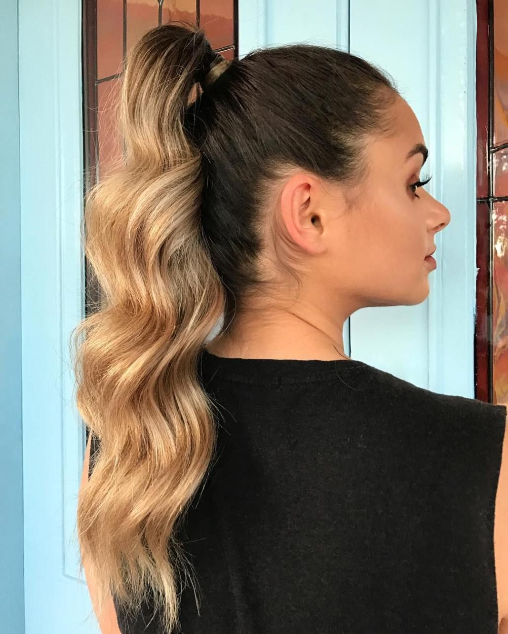 40 high ponytail ideas for every woman | ponytails in 2019