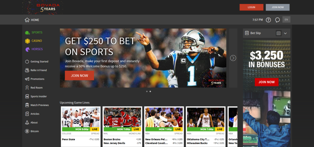 Bovada Review Pros, Cons and Promo Codes Sportsbook