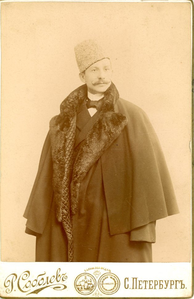 Russia, Sankt Peterburg, Portrait of a noble     #Russie_Russia