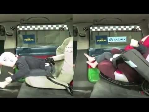 W Czym Nie Wozic Cybex Pallas 2 Fix Crash Test 3 Youtube Cybex Pallas Baby Car Seats