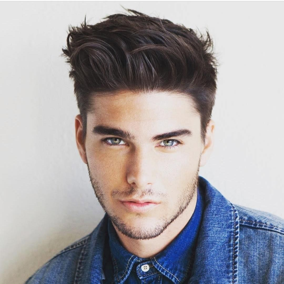 Quiff Hairstyle Endearing Brushup Quiff Hairstyle  Quiff Hairstyles For Mens  Pinterest