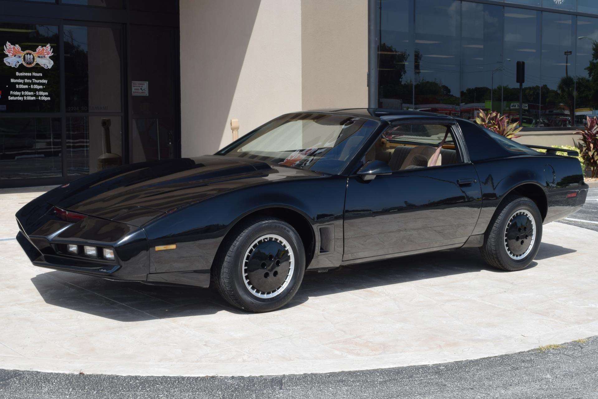 1982 Pontiac Firebird Kitt Finished In Black Paint With A Tan Interior Powered By A 305ci V8 Engine Mated To An Automatic Cars Movie Pontiac Firebird Pontiac