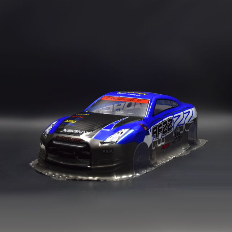 RC Racing Custom Painted Car Body Shell 1/10 scale On-Road Drift Car