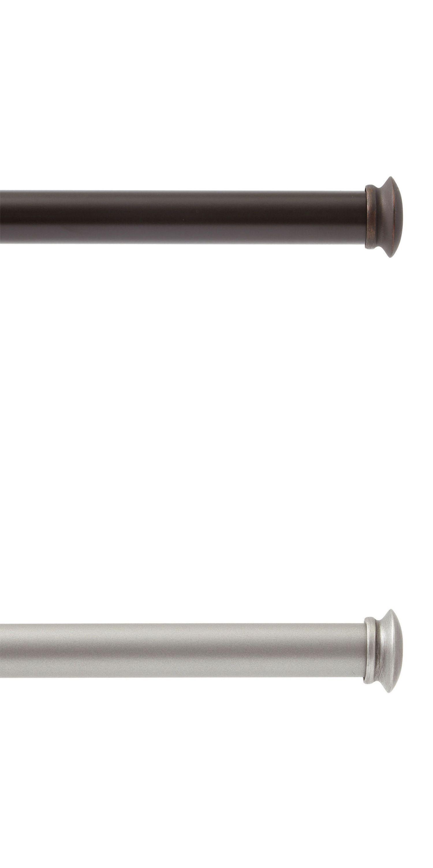Curtain Rods And Finials 103459 Legacy Single Curtain Drapery Rod