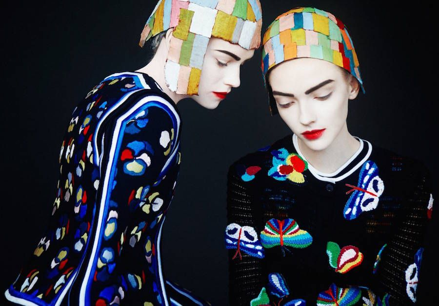 Colorful Fashion & Celebrities Photographs by Erik Madigan Heck