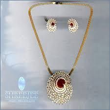 Image result for indian diamond pendant set designs pendants image result for indian diamond pendant set designs aloadofball Choice Image