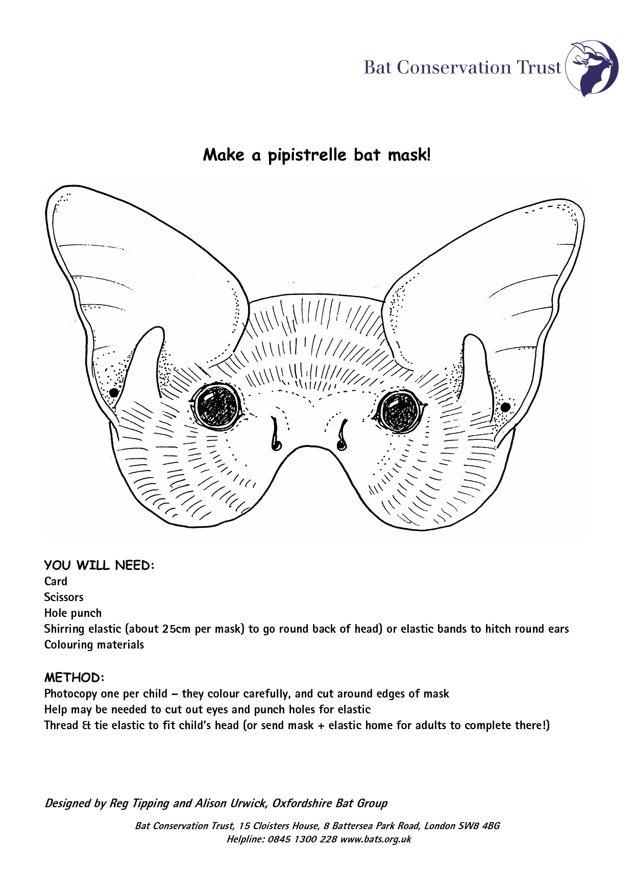 Uncategorized Printable Bat Mask too small for the children but traced ears to add another template bat maskspring