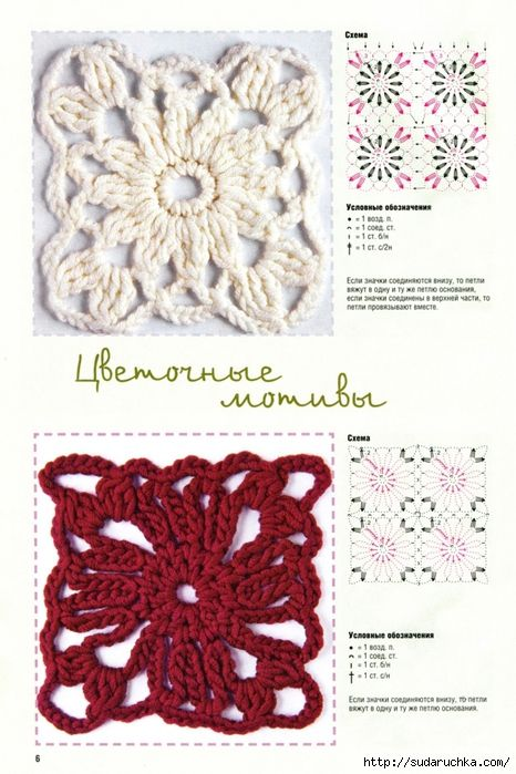 Delicadezas en crochet Gabriela: Libro de puntos fantasía | crochet ...