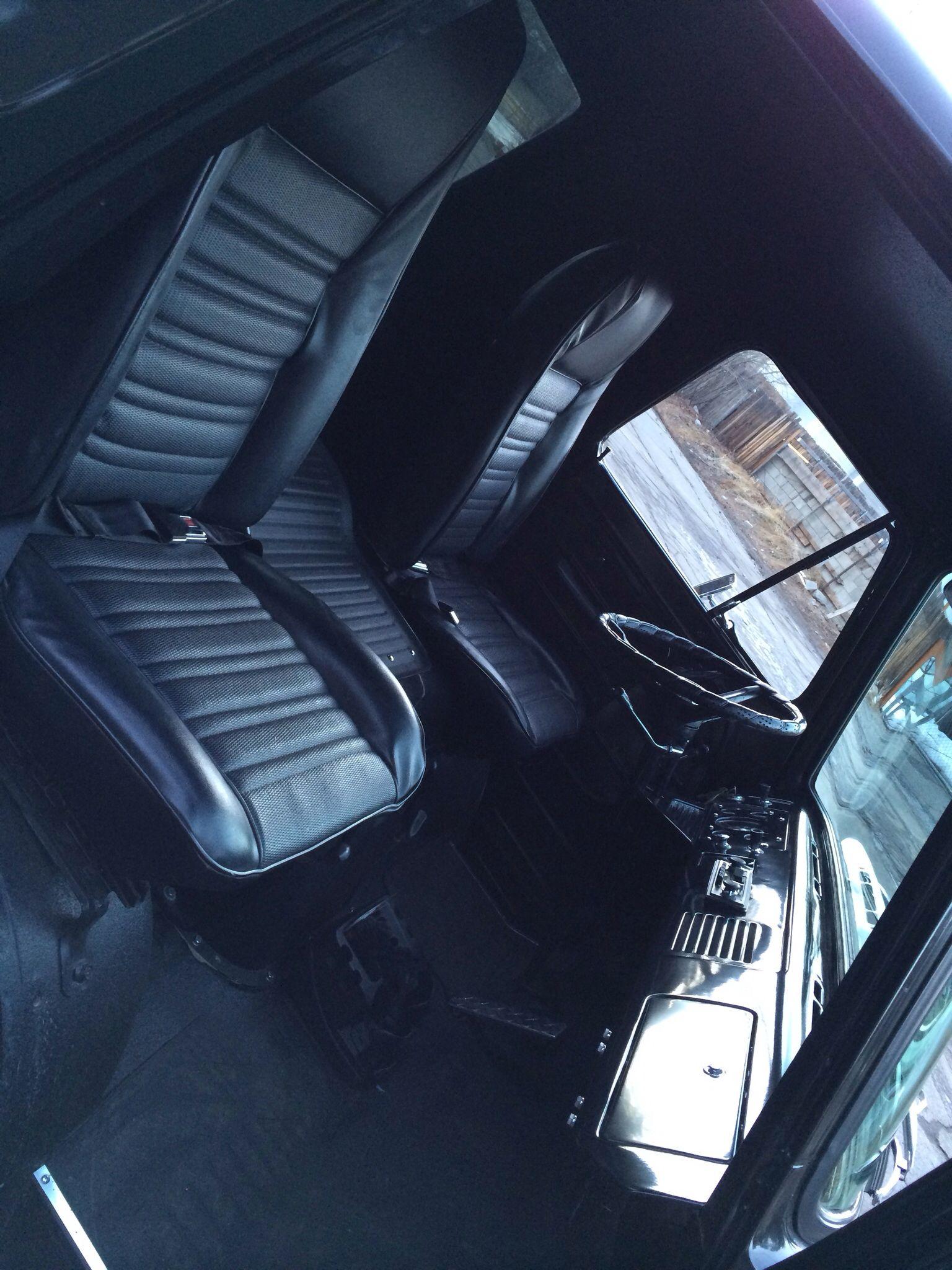 1961 Ford Falcon Econoline Truck interior