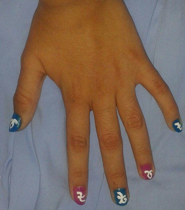 Una idea para pintarse las uñas