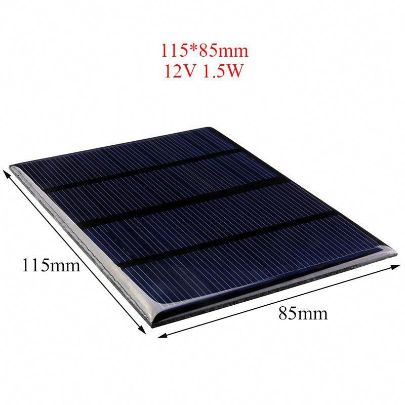 Sold 2172923595 Items Overfly 12v 1 5w Portable Solar Panel Bank Power Panel Solar System Module Diy Light Solar Panels Solar Energy Panels Best Solar Panels