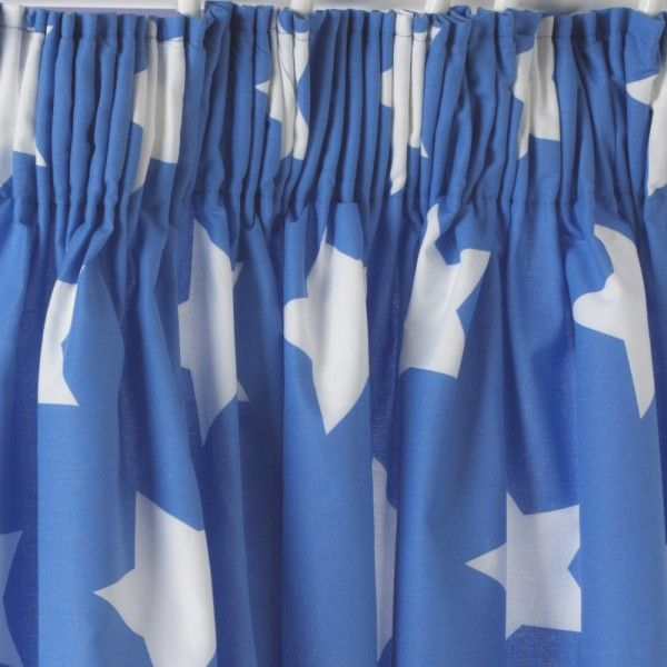 Blue Star Curtains Standard Length Childrens Bedroom Accessories Childrens Bedrooms