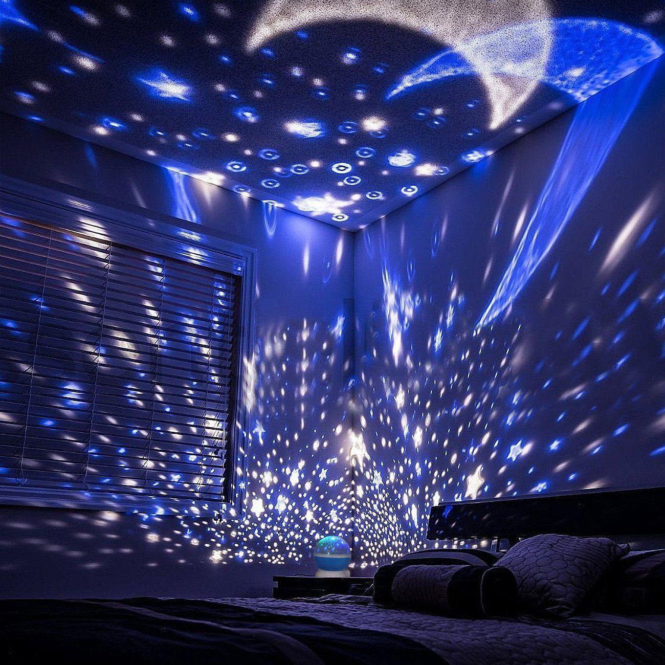 Star Night Light Projector Star Light Rotating Projector Constellation Rotating Star Projector Lamp W Starry Night Light Star Night Light Night Light Projector