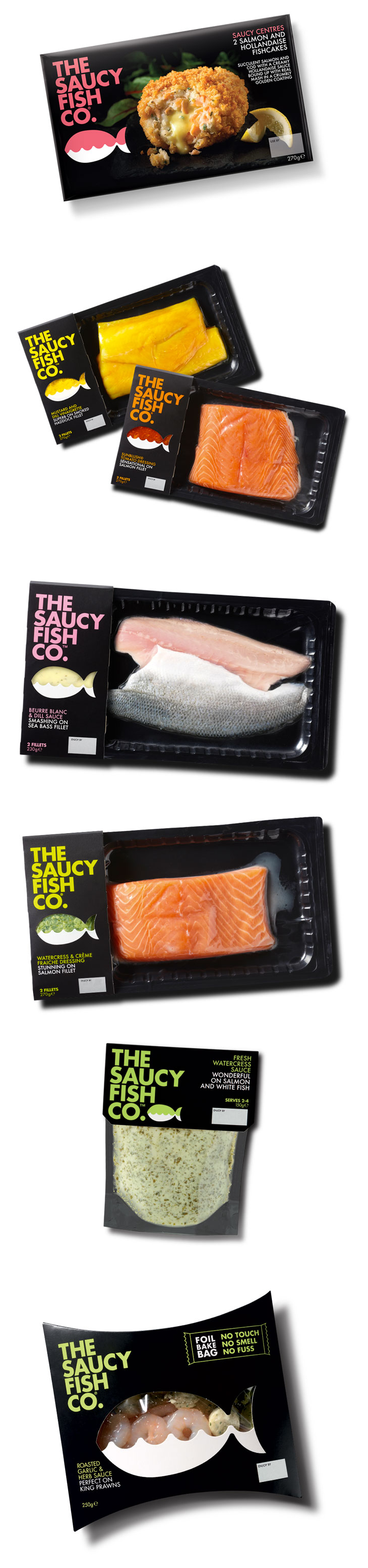 Designed by Elmwood The Saucy Fish Co. is proud to be the first brand to sign up to the Sustainable Seafood Coalition, which aims to improve product labelling and consumer protection. As a leading brand we are keen to ensure that our customers have access to responsibly sourced fish, as they trust us to do the right thing by actively engaging in making fisheries and fish farming more sustainable.""