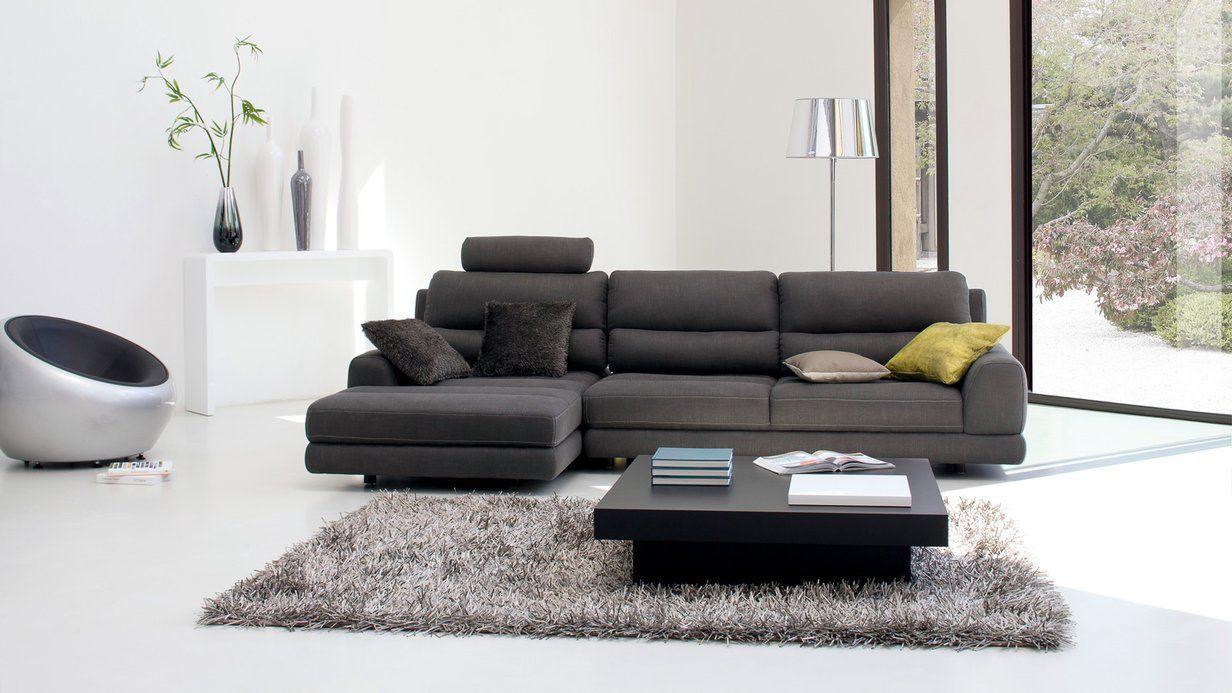 Canape D Angle Swing Un Style Moderne Pour Ce Salon En Tissu